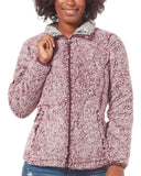 Women's Frosty Pile Full Zip Fleece Jacket