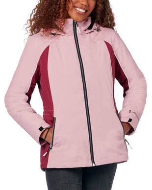 Free Country Women's Glide 3-in-1 Systems Jacket - Dusty Pink - S