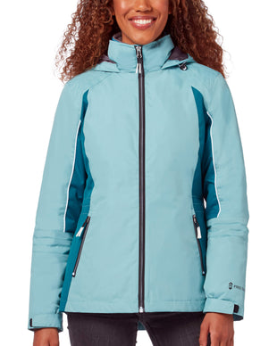 Free Country Women's Glide 3-in-1 Systems Jacket - Wet Blue - S