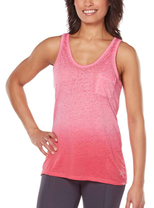 Free Country Women's Free2B Gradient Pocket Tank - Coral - S