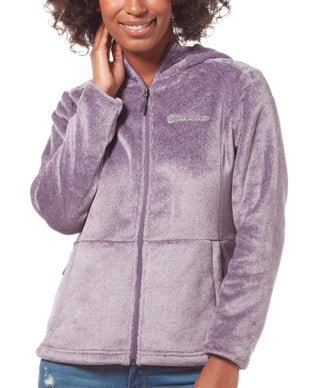 Free Country Women's Harmony Heather Butter Pile Fleece Jacket - Thistle - S