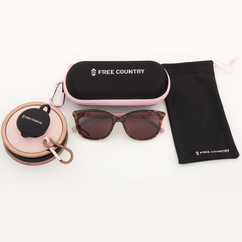 Free Country Women's Hiking Gift Set - Tortoiseshell - OS