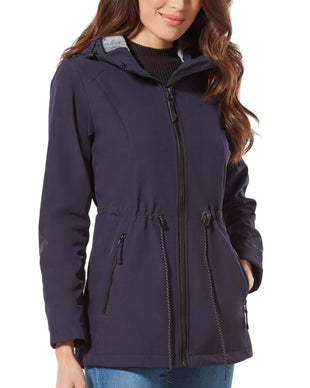 Free Country Women's Horizon Super Softshell Jacket - Navy - S
