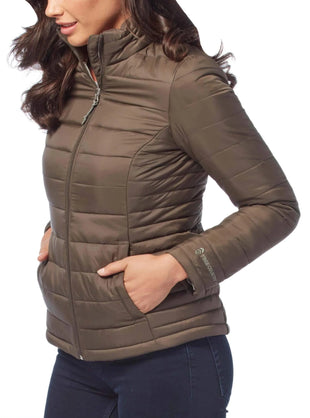 Free Country Women's Incline Chalet Cire Jacket - Olive - S