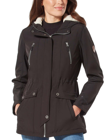 Free Country Women's Inertia Super Softshell® Jacket - Black - S