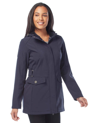 Free Country Women's Maneuver Softshell Jacket - Navy - S