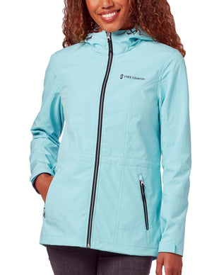 Free Country Women's Meander X2O Jacket - Sea Spray - S