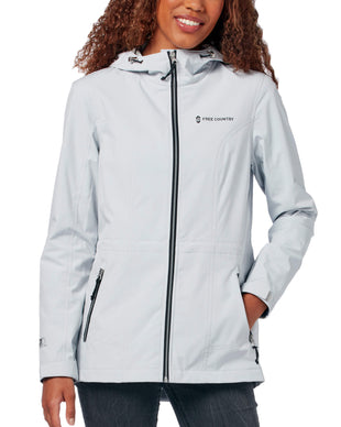 Free Country Women's Meander X2O Jacket - Silver Chip - S