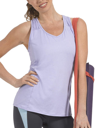 Free Country Women's Microtech Chill Tank Top - Fresh Lilac - S