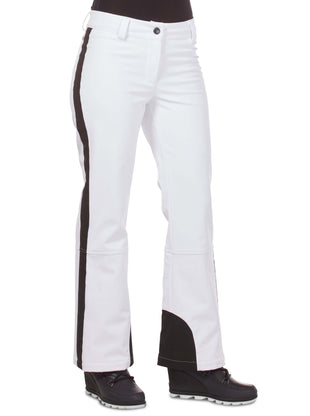 Free Country Women's Nimble Super Softshell® Ski Pants - White - S