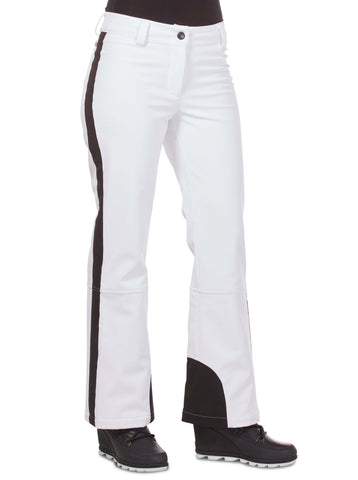 Free Country Women's Plus Size Nimble Super Softshell® Ski Pants - White - 1X