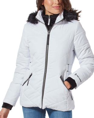 Free Country Women's Nimbus Cloud Lite Jacket - White - S