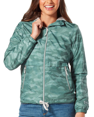 Free Country Women's Outland Windshear Jacket - Moss Camo - S