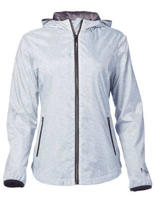 Free Country Women's Paramount Windshear Jacket - Silver Chip - S