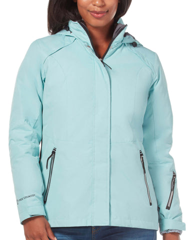 Free Country Women's Peak 3-in-1 Systems Jacket - Sea Spray - S