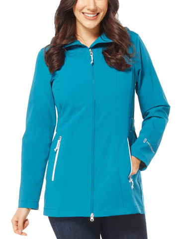 Free Country Women's Persist X2O Rain Jacket - Antique Teal - S