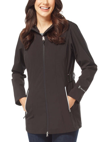 Free Country Women's Persist X2O Rain Jacket - Black - S