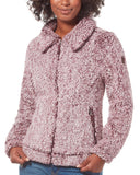 Women's Peter Pan Frosty Pile Fleece Jacket