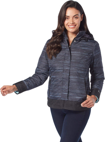 Women's Petite Empowered 3-in-1 Systems Jacket in Black