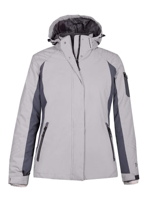 Free Country Women's Petite Snowridge 3-in-1 Systems Jacket - Shell Grey - PS