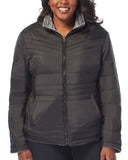 Women's Plus Size Evergreen Cloud Lite Reversible Jacket