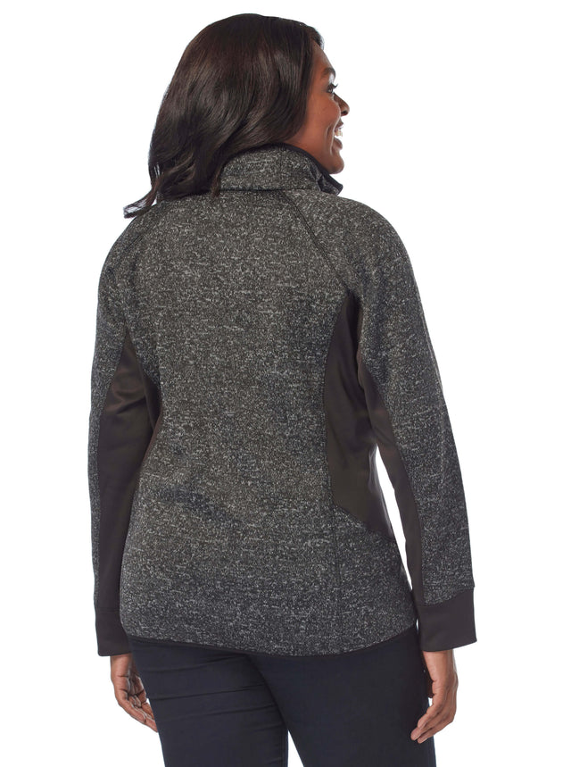 5369d93fa38  120 59.99. Style  267-L71778X. 4.5 star rating 17 Reviews. Women s Plus  Size Fawn Mountain Fleece Combo Jacket ...