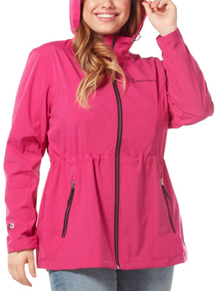 Free Country Women's Plus Size Meander X2O Jacket - Magenta - 1X