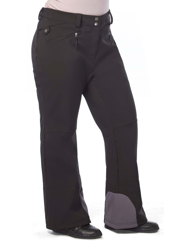 4097bdb9af Women s Plus Size Swift Softshell Ski Pants – Free Country