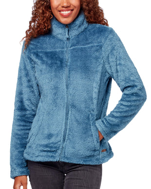 Free Country Women's Plush Fleece Jacket - Urban Blue - S