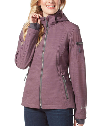 Free Country Women's Prestige Super Softshell® Jacket - Plum - S