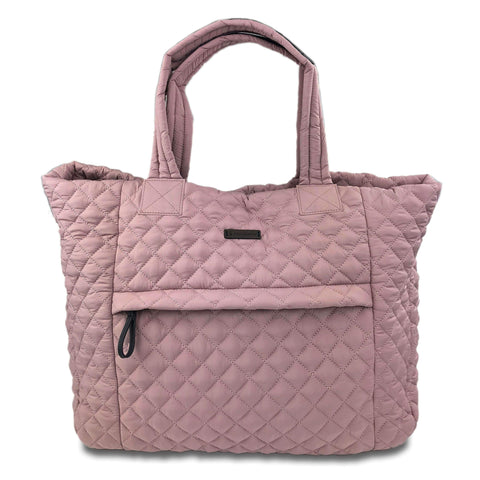 Free Country Women's Quilted Slouchy Tote - Rose - O/S