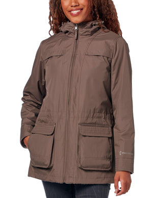 Free Country Women's Radiance® Reversible Jacket - Fossil - S