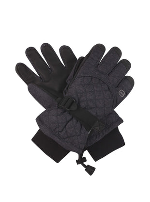Free Country Women's Radiance Ski Gloves - Black - S/M