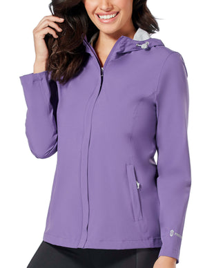 Free Country Women's Roam X2O Packable Waterproof Jacket - Purple - S