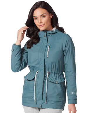 Free Country Women's Sea Breeze Windshear Jacket - Moss - S