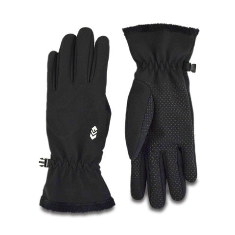 Free Country Women's Softshell Glove - Black - M/L