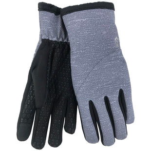 Free Country Women's Softshell Glove with Butter Pile Fleece Lining - Grey - S/M