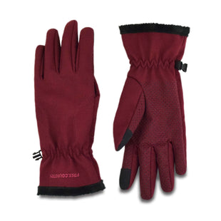Free Country Women's Softshell Texting Glove - Merlot - S/M