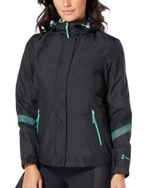 Free Country Women's Sporty Multi Ripstop Jacket - Black - S