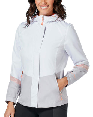 Free Country Women's Sporty Multi Ripstop Jacket - White - S