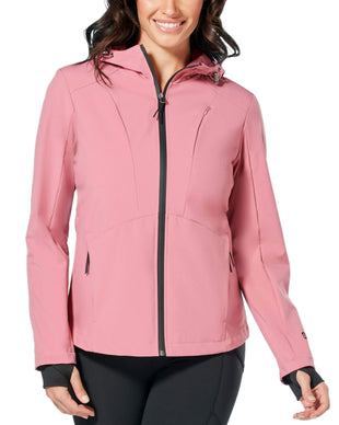 Free Country Women's Springtime Super Softshell® Jacket - Mauve - S