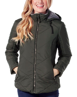 Free Country Women's Stratus Cloud Lite Jacket - Olive - S