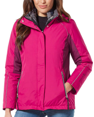 Free Country Women's Summit 3-in-1 Systems Jacket - Berry - S