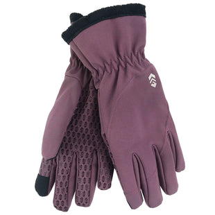 Free Country Women's Supersoft Softshell Glove - Plum - M/L