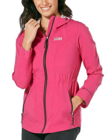 Free Country Women's Torrential X2O Rain Jacket - Berry - S