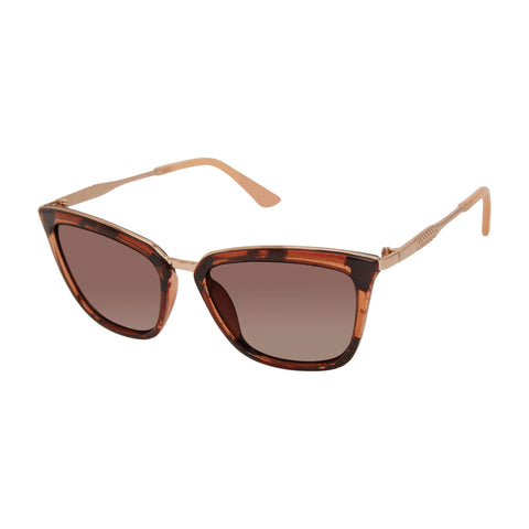 Free Country Women's Tortoiseshell II Sunglasses - Brown -