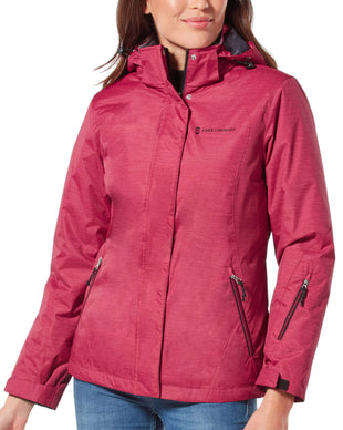 Free Country Women's Trailblazing 3-in-1 Systems Jacket - Etched Red - S