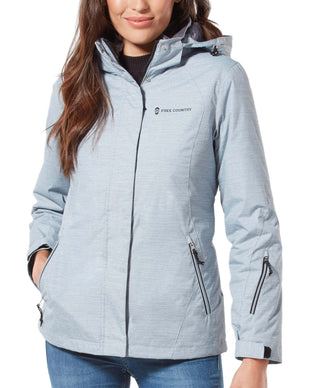 Free Country Women's Trailblazing 3-in-1 Systems Jacket - Silver Chip - S