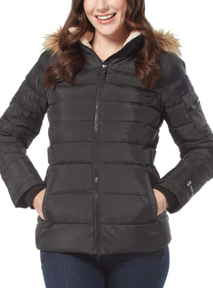 Free Country Women's Traveler Cloud Lite Down Jacket - Black - S