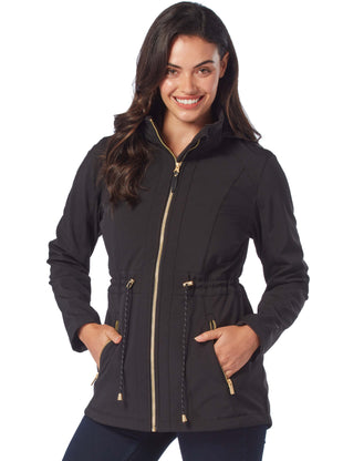 Free Country Women's Voyager Softshell Jacket - Black - S